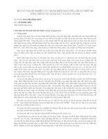 Báo cáo khoa học   một số vấn đề NGHIÊN cứu TRONG BIÊN SOẠN TIÊU CHUẨN THIẾT kế CÔNG TRÌNH CHỊU ĐỘNG đất TCXDVN 375 2006