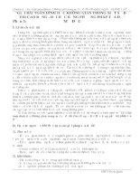 skkn GIẢI bài TOÁN HÌNH học KHÔNG GIAN TRONG một số đề THI CAO ĐẲNG và đại học BẰNG PHƯƠNG PHÁP tọa độ