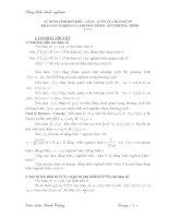 Sáng kiến kinh nghiệm sử dụng tính đơn điệu, giá trị lớn nhất, giá trị nhỏ nhất của hàm số để khảo sát nghiệm của phương trình và bất phương trình