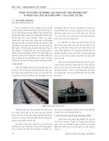 Báo cáo kết cấu   công nghệ xây dựng  phân tích ứng xử động lực học kết cấu đường sắt không ballast qua mô hình 1 và 2 bậc tự do