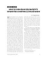 Báo cáo   những bất cập và phương hướng hoàn thiện quy định về một số tội xâm phạm nhân phẩm của con người trong bộ luật hình sự việt nam năm 1999