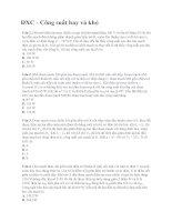 30 câu hay và khó về Điện xoay chiều  Công suất có lời giải chi tiết