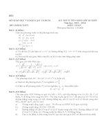 10 đề thi toán vào lớp 10 có đáp án