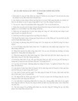 30 câu hỏi ôn tập môn kỹ thuật điều hành công sở
