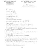Đề thi học kì i môn toán 9 tỉnh đồng nai năm học 2015   2016(có đáp án)
