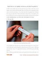 Danh sách các xét nghiệm, siêu âm mẹ cần làm trong thai kỳ