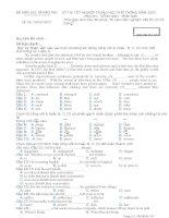 đề thi 2007  M357 Tiến