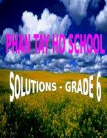 Solutions 5A  AV6