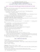 Lý thuyết  Sinh học 12