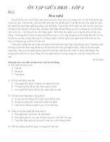 đọc thầm tham khảo giữa HKII lớp4