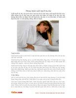 Bệnh xuất huyết dạ dày và cách phòng ngừa