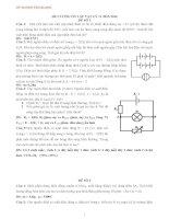 20 đề thi học kì 1 môn vật lý lớp 11 có đáp án