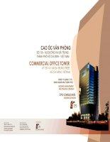 Báo cáo phương án thiết kế công trình cao ốc văn phòng HMTC ( đã được đưa vào sử dụng) , song ngữ anh việt