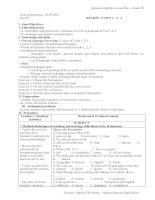 review unit 1 2 3 english 10 (basic)