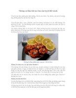 Những sai lầm khi ăn tôm cần tuyệt đối tránh