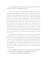 CÁC GIẢI PHÁP NÂNG CAO NĂNG LỰC QUẢN LÝ NHÀ NƯỚC CỦA CÁN BỘ, CÔNG CHỨC CHÍNH QUYỀN CẤP XÃ