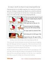 Kỹ năng sơ cứu để cứu sống trẻ trong trường hợp khẩn cấp