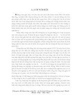 Chuyên đề thực tập văn thư  lưu trữ tại Công ty Thương mại Bình Minh Việt Hà Nội