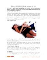 Những căn bệnh nguy hại do nhịn tiểu gây nên