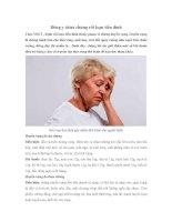 Đông y chữa chứng rối loạn tiền đình