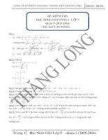 Đề thi học sinh giỏi toán 9 quận 3 thành phố hồ chí minh năm học 2015   2016(có đáp án)