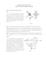 Bài tập chi tiết máy bộ truyền bánh ma sát