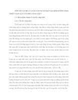 MỘT SỐ VẤN ĐỀ LÝ LUẬN CHUNG VỀ ĐÀO TẠO, BỒI DƯỠNG PHÁT TRIỂN NĂNG LỰC CÁN BỘ, CÔNG CHỨC