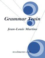 Grammar Train (English Grammar) - Ngữ pháp tiếng anh