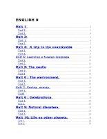 Bài tập trắc nghiệm tiếng anh 9 (theo từng unit1-10 with key)