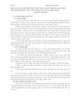 skkn sử DỤNG PHƯƠNG TIỆN TRỰC QUAN TRONG dạy học LỊCH sử để PHÁT HUY TÍNH TÍCH cực của học SINH