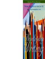 Developing Writing - Writing Skills Practice Book for EFL