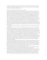 NHỮNG KHÓ KHĂN VƯỚNG MẮC TRONG VIỆC ÁP DỤNG CÁC BIỆN PHÁP NGĂN CHẶN THEO QUY ĐỊNH CỦA BỘ LUẬT TỐ TỤNG HÌNH SỰ NĂM 2003 VÀ KIẾN NGHỊ SỬA ĐỔI BỔ SUNG