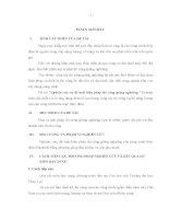 Nghiên cứu và đề xuất biện pháp thi công giếng nghiêng