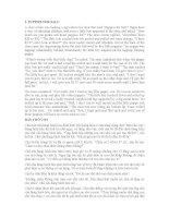 Tuyển tập truyện ngắn song ngữ Anh - Việt hay