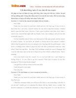 Viết thư tiếng Anh về các chủ đề cho trước