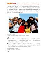 Những cụm từ lóng giới trẻ Mỹ hay sử dụng trong giao tiếp tiếng Anh