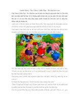 Audio Story: The Three Little Pigs - Ba chú heo con