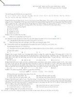 ĐỀ THI THỬ THPT QUỐC GIA năm 2016 môn hóa đề số 8