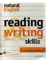 Natural English: Reading and Writing Skill Elementary Resource Book