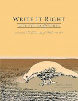Write It Right With Strunk and White