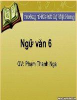 Giáo án bồi dưỡng ngữ văn lớp 6 bài học đường đời đầu tiên (10)