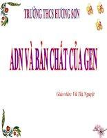 Bài giảng sinh học 9 tham khảo ADN và bản chất của gen (17)
