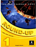 English Grammar Book: Round-Up 1