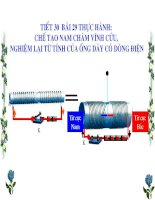 Bài giảng điện tử vật lý 9 thực hành chế tạo nam châm vĩnh cửu (7)