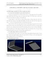 Đồ án tốt nghiệp thiết kế máy lốc đĩa uốn tạo hình con lươn bảo vệ tàu và quy trình công nghệ chế tạo lô lốc