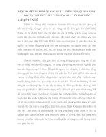 SKKN một số BIỆN PHÁP NÂNG CAO CHẤT LƯỢNG xã hội hóa GIÁO dục tại TRƯỜNG mẫu GIÁO họa MI xã KHÁNH TIẾN
