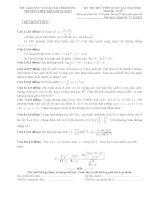 Tổng hợp đề thi thử toán các trường 2016  có đáp án chi tiết
