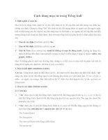Cách dùng mạo từ trong Tiếng Anh