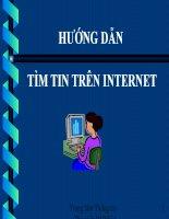 HƯỚNG dẫn   tìm TIN TRÊN INTERNET