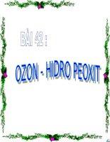 ozon hidro peoxit